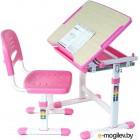Парта+стул FunDesk Piccolino (розовый)