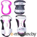 Комплект защиты Globber 541-110 (XS, розовый)