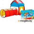 Детская игровая палатка Maya Toys Домик с тоннелем / 995-7012A