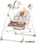 Детский шезлонг Carrello Nanny CRL-0005 (бежевые полосы)