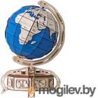 Сборная модель EWA Глобус. Образовательная 3D модель Земли (голубой)