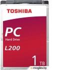 Жесткий диск Toshiba Sata-III 1Tb L200 Slim (HDWL110UZSVA)