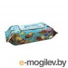 Влажные салфетки Skippy Aqua с клапаном (80шт)
