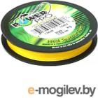 Леска/катушка рыболовная Power Pro Hi-Vis Yellow 0.23мм / PP135HVY023 (135м)