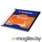 DVD-R Verbatim 16x /4,7Gb/ [Slim] - Matt Silver