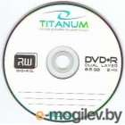 DVD R 10 шт. туба Titanum 8x /8,5Gb/ Double Layer