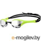 Очки для плавания ARENA Cobra Ultra Mirror 1E032 66 (серебристый/зеленый/белый)