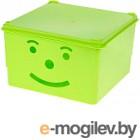Ящик для хранения Полимербыт Улыбка 830-83000 (зеленый)