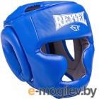 Боксерский шлем Reyvel Rv-301 (L, синий)