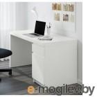 МАЛЬМ, Письменный стол, белый