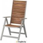 ШЭЛЛАНД, Садовое кресло, светло-серый, светло-коричневый 604.053.47