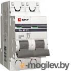 Выключатель автоматический EKF ВА 47-63 2P 16А (C) 4.5kA PROxima