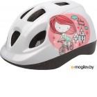 Защитный шлем Polisport Princess 46/53 (белый/розовый)