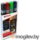 Набор маркеров для доски Edding e-4095/4 (4шт, ассорти)