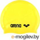 Шапочка для плавания ARENA Classic Silicone Cap 91662 35 (Yellow/Black)
