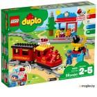 Конструктор электромеханический Lego Duplo Паровоз Поезд на паровой тяге 10874