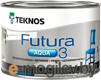 Грунтовка Teknos Futura Aqua 3 Valkoinen (2.7л)