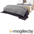 Двуспальная кровать Мебель-КМК Лайт 1600 0551.11 (дуб юккон/дуб полярный)