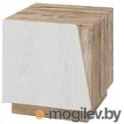 Тумба Мебель-КМК Лайт 1Д 0551.10 (дуб юккон/дуб полярный)