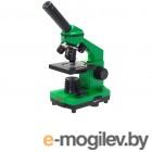 Детский микроскоп Микромед Эврика 40х-400х в кейсе (лайм) 25447