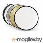 светоотражатели, лайт-диски Fujimi 80cm FJ-702 5 in 1 White/Gold/Silver/Black/Diffuser