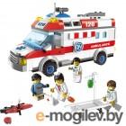 Конструкторы Enlighten Brick Город 1118 Скорая помощь Г72906