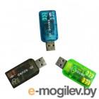 внешние звуковые карты ATcom USB-sound Card 5.1 3D Sound AT7807