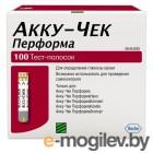 Все для глюкометров и анализаторов крови Тест-полоски Accu-Chek Performa 100шт