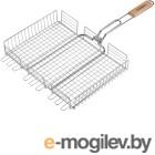 Шампуры, решетки-гриль Решетка-гриль Grinda Barbecue 220x220mm 424712