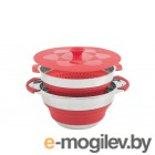 Посуда для туризма Набор Outwell Collaps Pot Red 650208