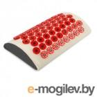 Магнитные апликаторы Тибетский аппликатор Мягкий валик для поясницы для чувствительной кожи магнитный Red