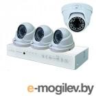 Готовые комплекты видеонаблюдения iVUE AHD 1 MPX Дома и Офиса 44 IVUE-D5004 AHC-D4