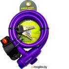 Замки, тросы Vinca Sport VS 588 12mm x 120cm Violet