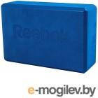 Скакалки, пояса, диски, степы и другие аксессуары Блок для йоги Reebok RAYG-10025BL Blue