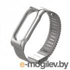 Аксессуары для умных браслетов Ремешок Apres Mijobs Metal Strap for Xiaomi Mi Band 2 Silver