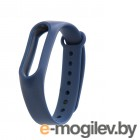 Аксессуары для умных браслетов Ремешок Xiaomi Mi Band 2 Strap Dark Blue