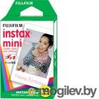 картриджи для моментальной фото печати Fujifilm Instax, Polaroid для моментальной печати FujiFilm Glossy 10/PK для Instax mini 8/7S/25/50S/90 / Polaroid 300 Instant 16386004