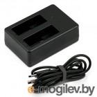 аккумуляторы и зарядки RedLine RL433 Зарядное устройство для двух аккумуляторов GoPro Hero 5
