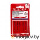 Aксессуары для швейного оборудования Набор игл Singer 100 5шт 2020 806R