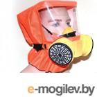 Самоспасатели, противогазы, респираторы и комплектующие Самоспасатель Шанс-Е с полумаской усиленная модель - фильтры ФСЭ-С п/м