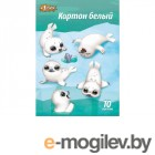 Цветная бумага и картон Картон 1 School Snow Joy А4 10 листов White 417513