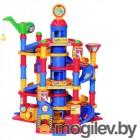 Детские парковки и гаражи ПолесьеПаркинг 7-уровневый с автомобилями 37848
