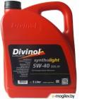 Масло моторное 4-х тактное синтетич. SAE 5W-40 DIVINOL SYNTOLIGHT 505.01 5 л (всесезонное)
