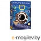 Аксессуары для бытовой техники Фильтры  для кофе неотбеленные Top House 100шт 4660003390629