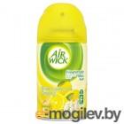 Сменный флакон освежителя воздуха Air Wick Fresh Matic Лимон и женьшень (250мл)