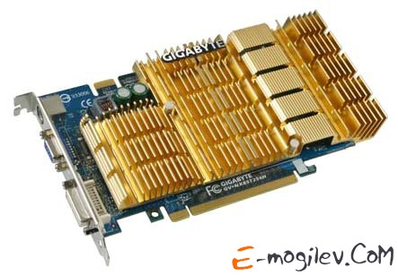 GIGABYTE GeForce 8500 GT PCI-E 256Mb 128 bit DVI. Уценка