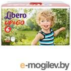Libero UP&GO XL 6, (13-20кг) 28шт