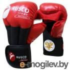 Перчатки для рукопашного боя RuscoSport Красный (р-р 8)