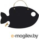 Меловая доска Grifeldecor Рыбка (400x230)