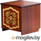 Тумба Мебель-КМК Камелия 0468.4 (орех экко/патина золото)